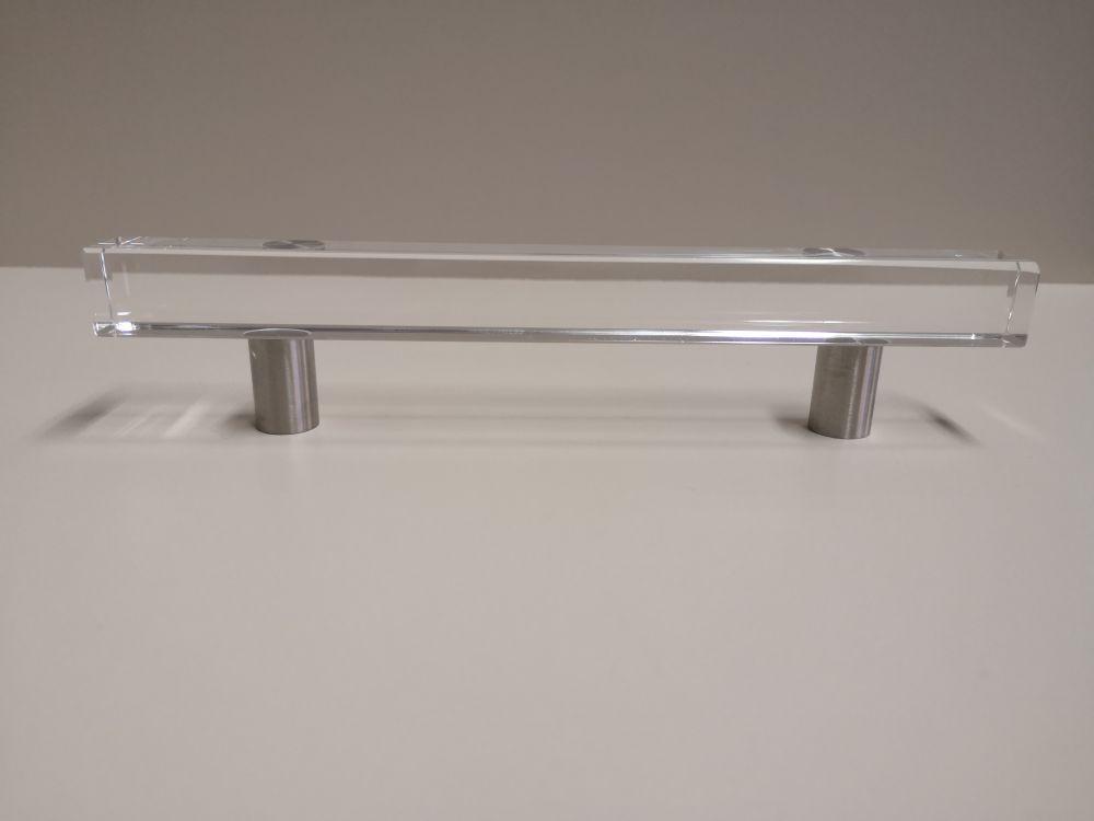 Möbelgriff Square Glas 200mm