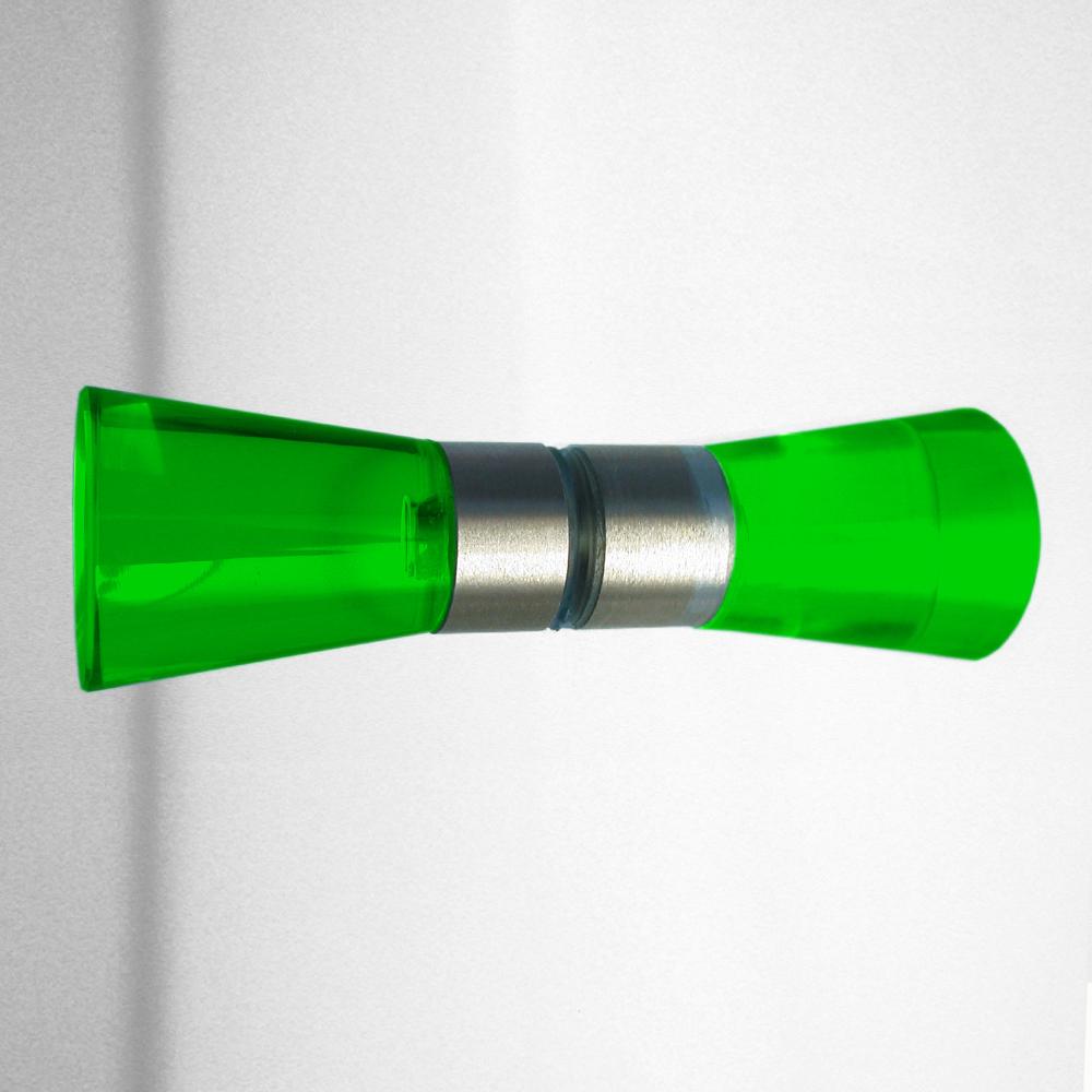 Duschtürgriffe grün CONE Set