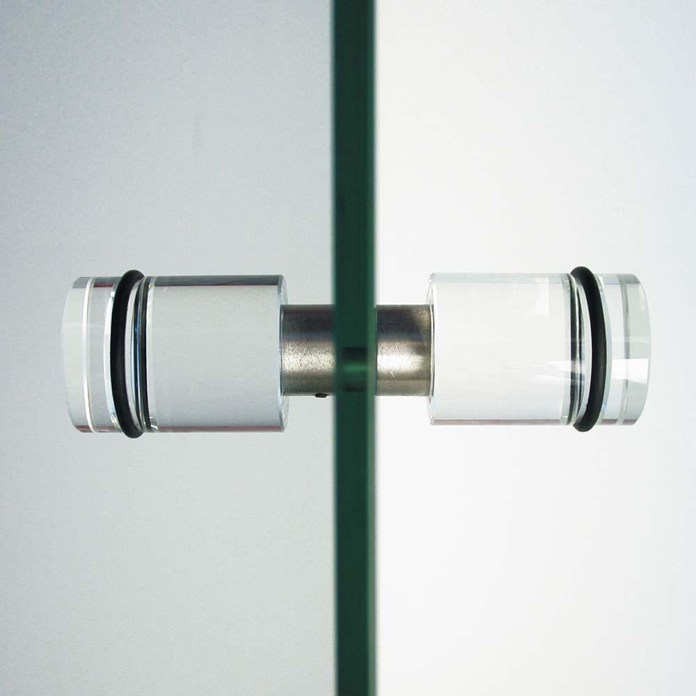 Glastürgriffe 35mm Set