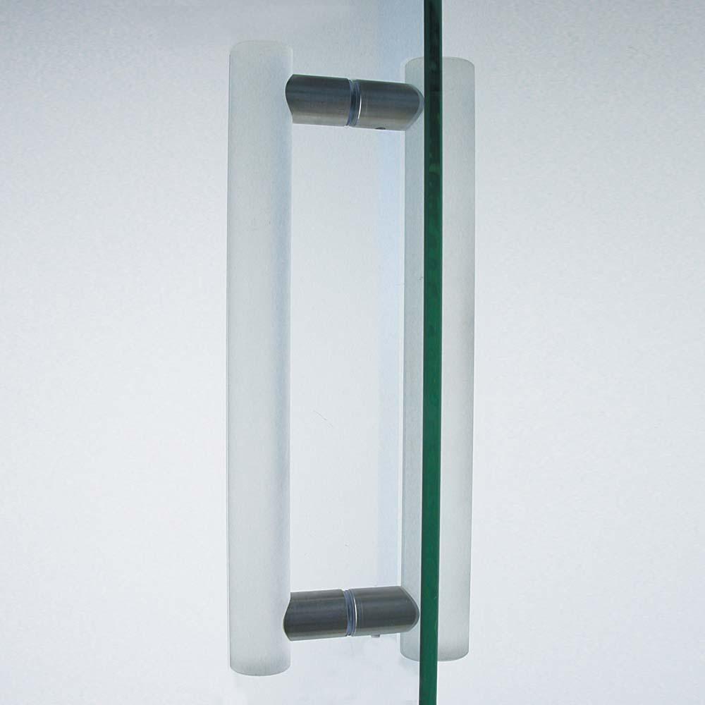 Griffstange Dusche matt 350mm Set
