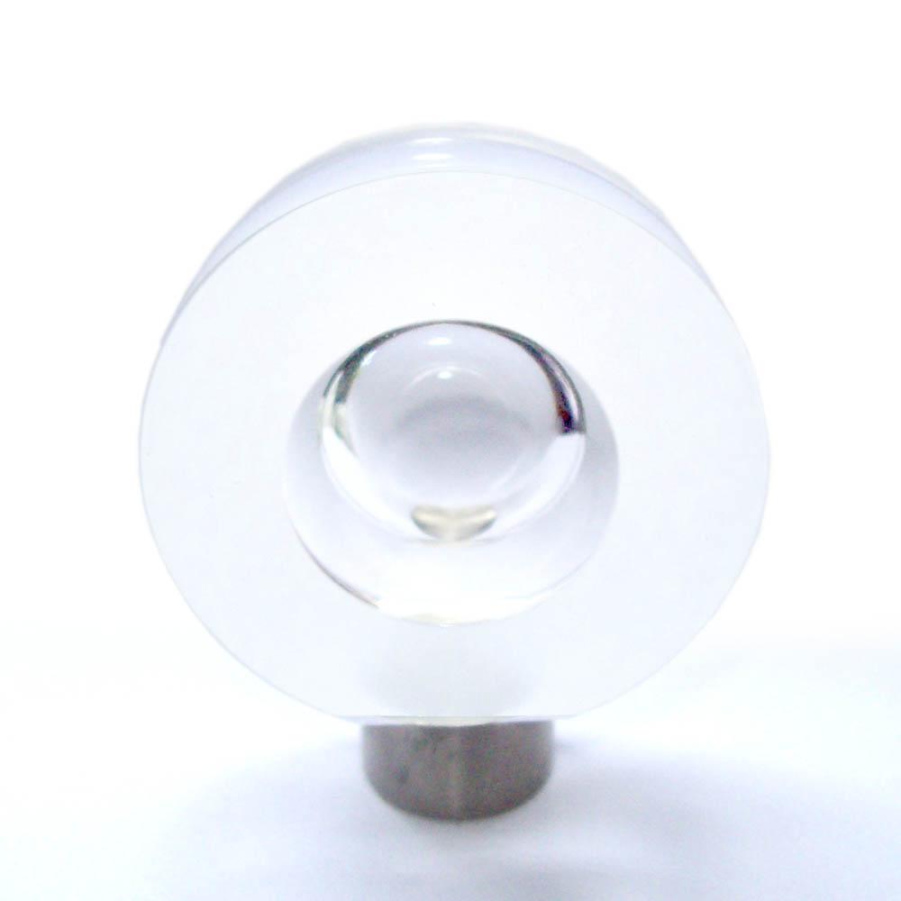 Design Möbelknopf Glas matt 40mm