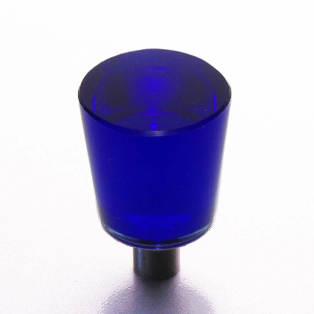 Möbelknopf dunkel blau 22mm