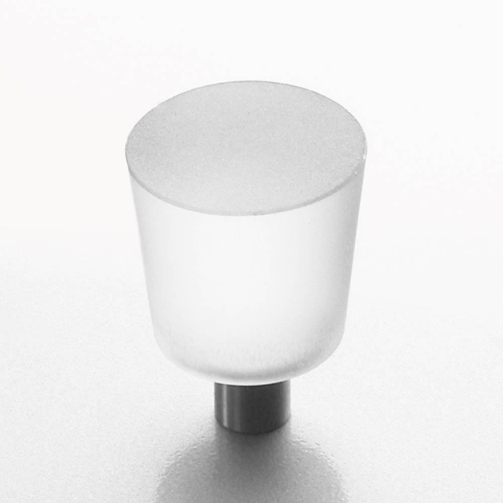 m belknopf edelstahl glas matt 20mm online shop direkt vom hersteller. Black Bedroom Furniture Sets. Home Design Ideas