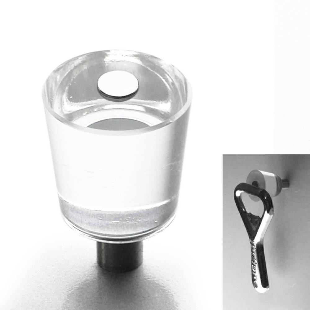 Möbelknopf mit Magnet 22mm