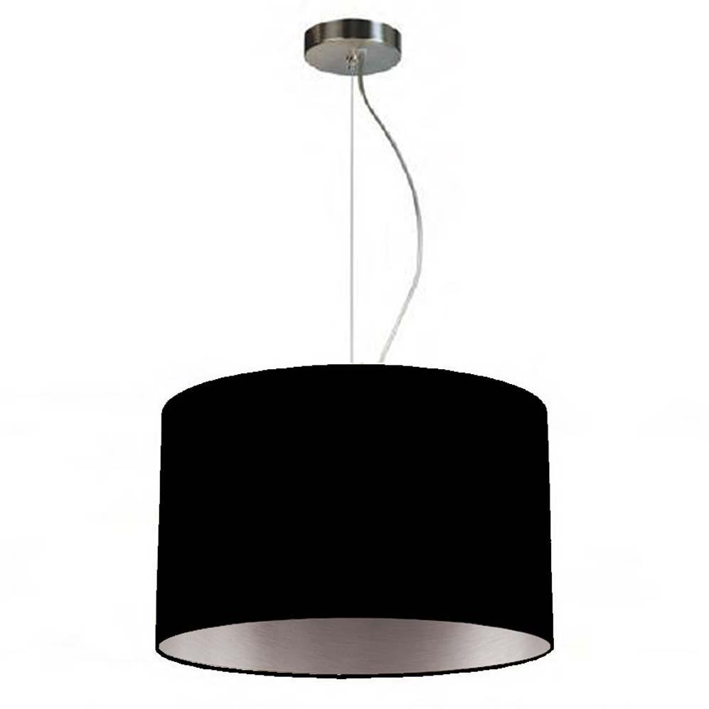 pendelleuchte simple round two 35 schwarz silber online shop direkt vom hersteller. Black Bedroom Furniture Sets. Home Design Ideas