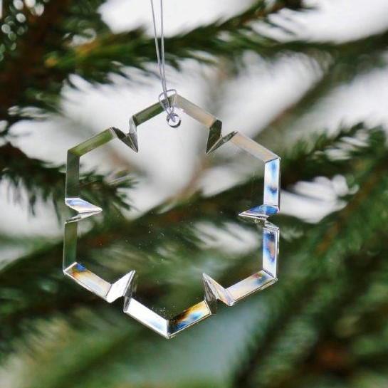"""Weihnachtsanhänger """"Schneeflocke"""""""