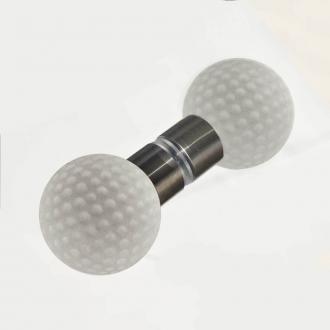 Duschtürgriffe Kugel 40mm Golf Set