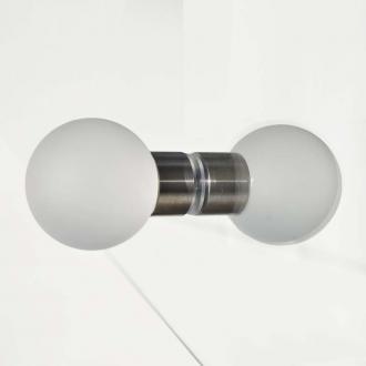 Glasgriffe Kugel matt 60mm Set