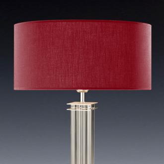 lampenschirm rot rund 50 x 20 cm online shop direkt vom. Black Bedroom Furniture Sets. Home Design Ideas