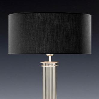 lampenschirm schwarz rund 50 x 20 cm online shop direkt vom hersteller. Black Bedroom Furniture Sets. Home Design Ideas