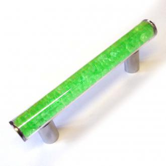 Möbelgriff neon grün befüllt 180mm