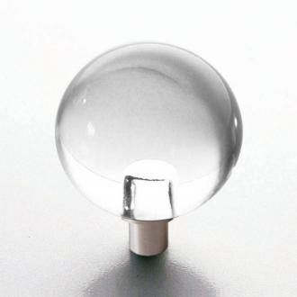 Möbelknopf Glaskugel 25mm