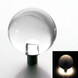 Möbelknopf Kugel leuchtend 25mm
