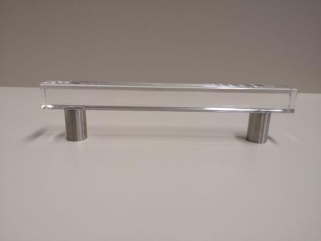 Möbelgriff Square Glas 168mm