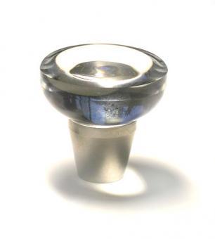 Knopf 1555 - 40mm Kristall klar