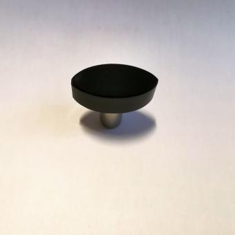 Möbelknopf schwarz 30mm