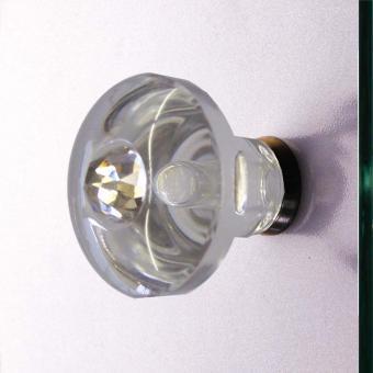 Duschtürgriffe Kristall 36mm Set