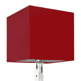 Lampenschirm rot 35 x 35 x 35cm