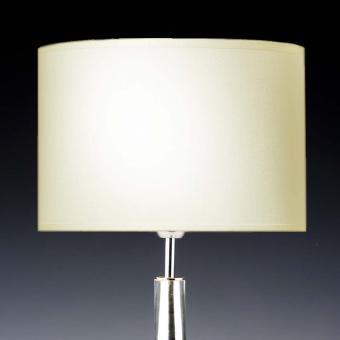 Lampenschirm creme rund 25 x 15 cm