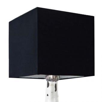 Lampenschirm schwarz 35 x 35 x 35cm
