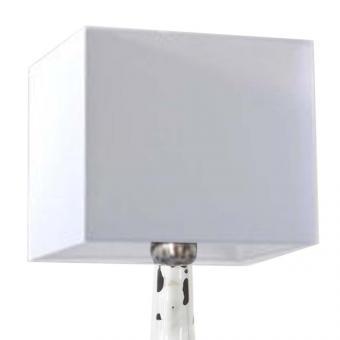 Lampenschirm weiß 35 x 35 x 35cm