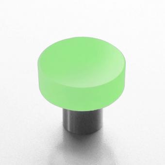 Design Möbelknopf hell grün 25mm