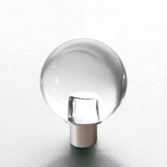 Möbelknopf Glaskugel 20mm