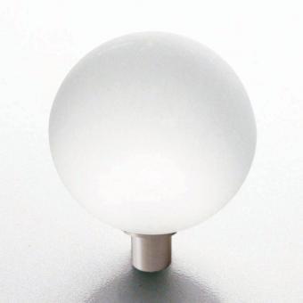 Möbelknopf Glaskugel 30mm matt