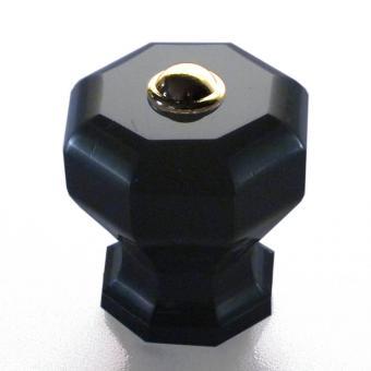 Möbelknopf schwarz 38mm