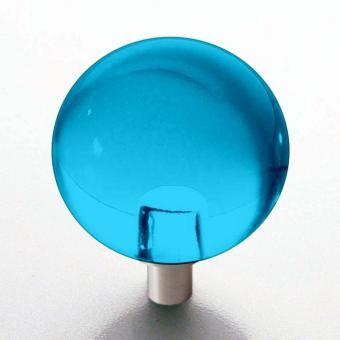 Möbelknopf türkis Kugel 30mm