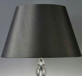 konisch schwarz glänzend 36x22x23cm