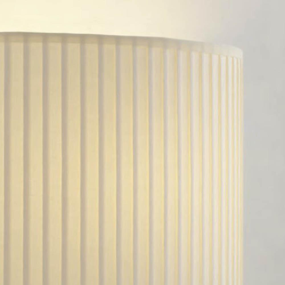 lampenschirm creme rund plissee 40 x 20 cm online shop direkt vom hersteller. Black Bedroom Furniture Sets. Home Design Ideas