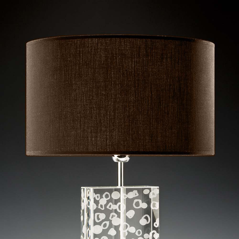 lampenschirm braun rund 40 x 20 cm online shop direkt vom hersteller. Black Bedroom Furniture Sets. Home Design Ideas
