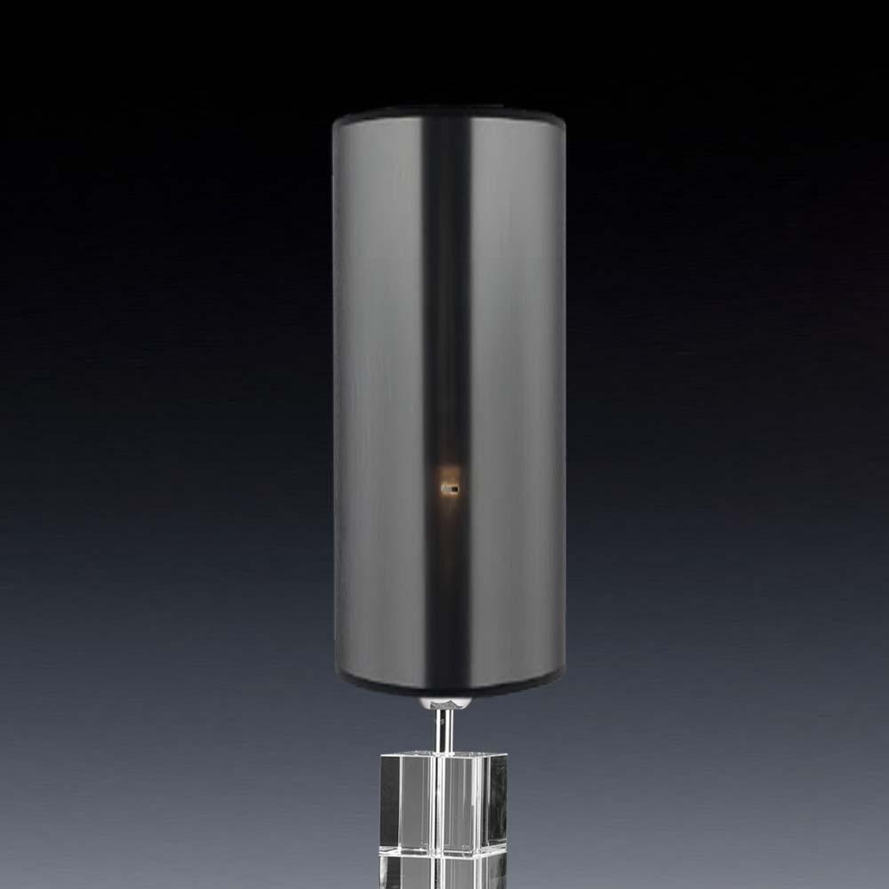 lampenschirm rund schwarz transparent 12 x 33 cm online shop direkt vom hersteller. Black Bedroom Furniture Sets. Home Design Ideas