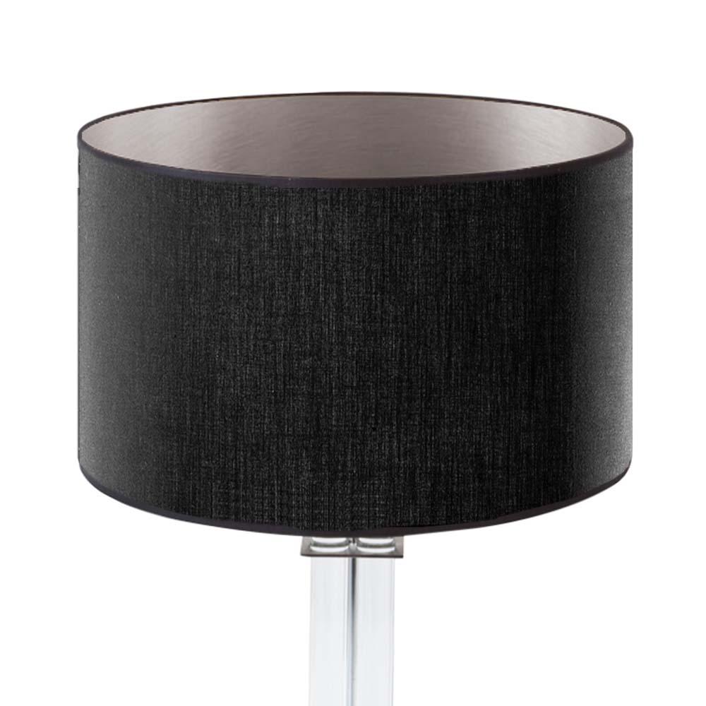 Lampenschirm Schwarz Silber Rund 35 X 20 Cm Online Shop Direkt Vom Hersteller