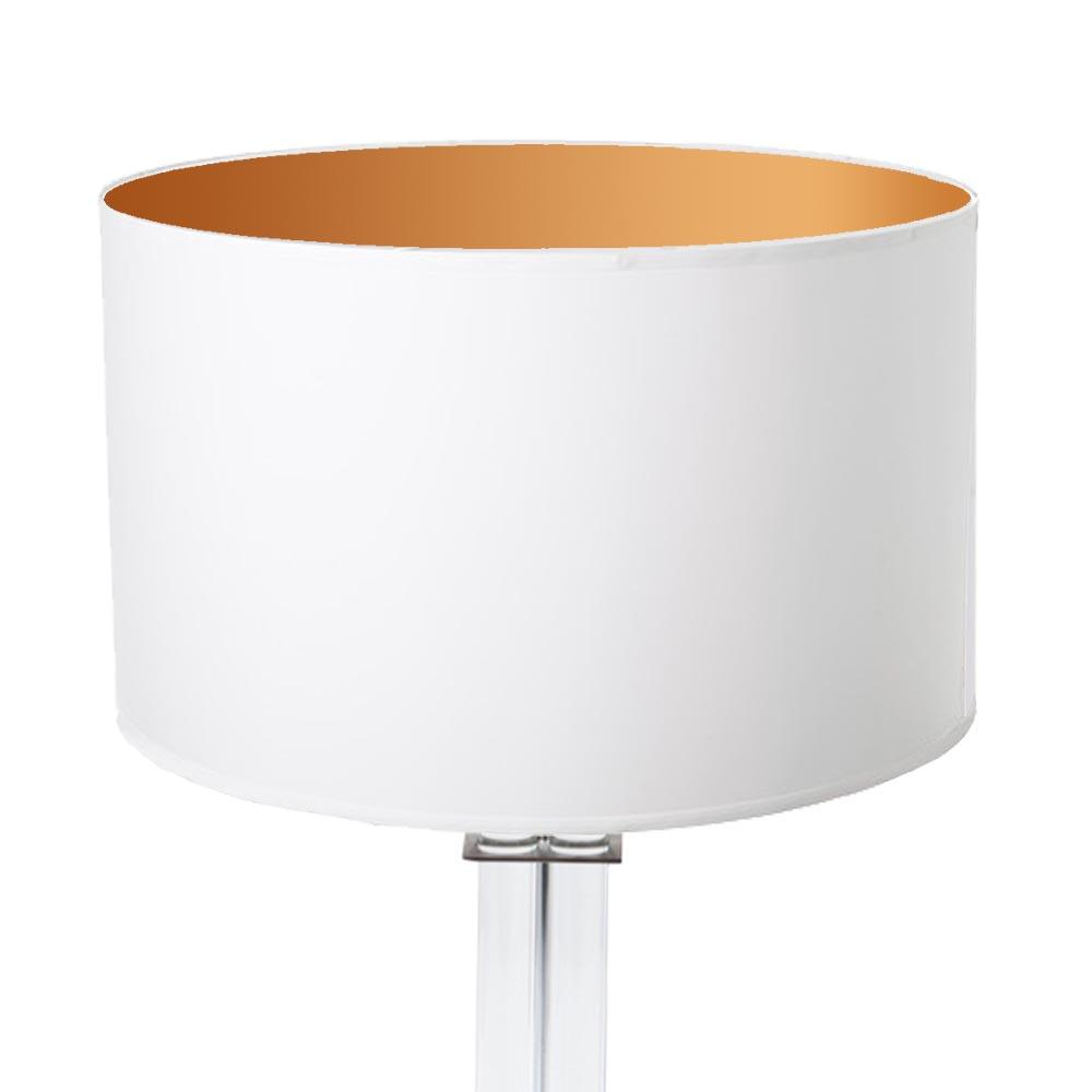 lampenschirm wei gold rund 35 x 20 cm online shop direkt vom hersteller. Black Bedroom Furniture Sets. Home Design Ideas
