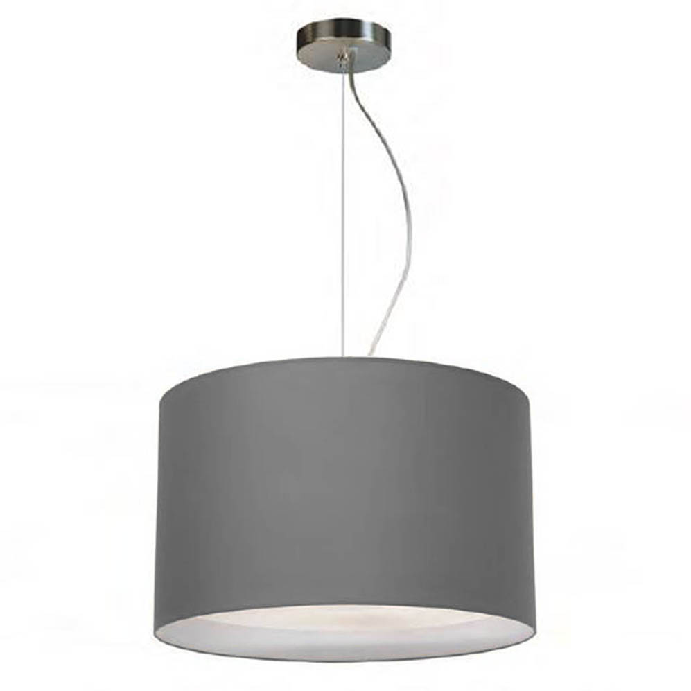 pendelleuchte simple round two 35 grau seide online shop direkt vom hersteller. Black Bedroom Furniture Sets. Home Design Ideas