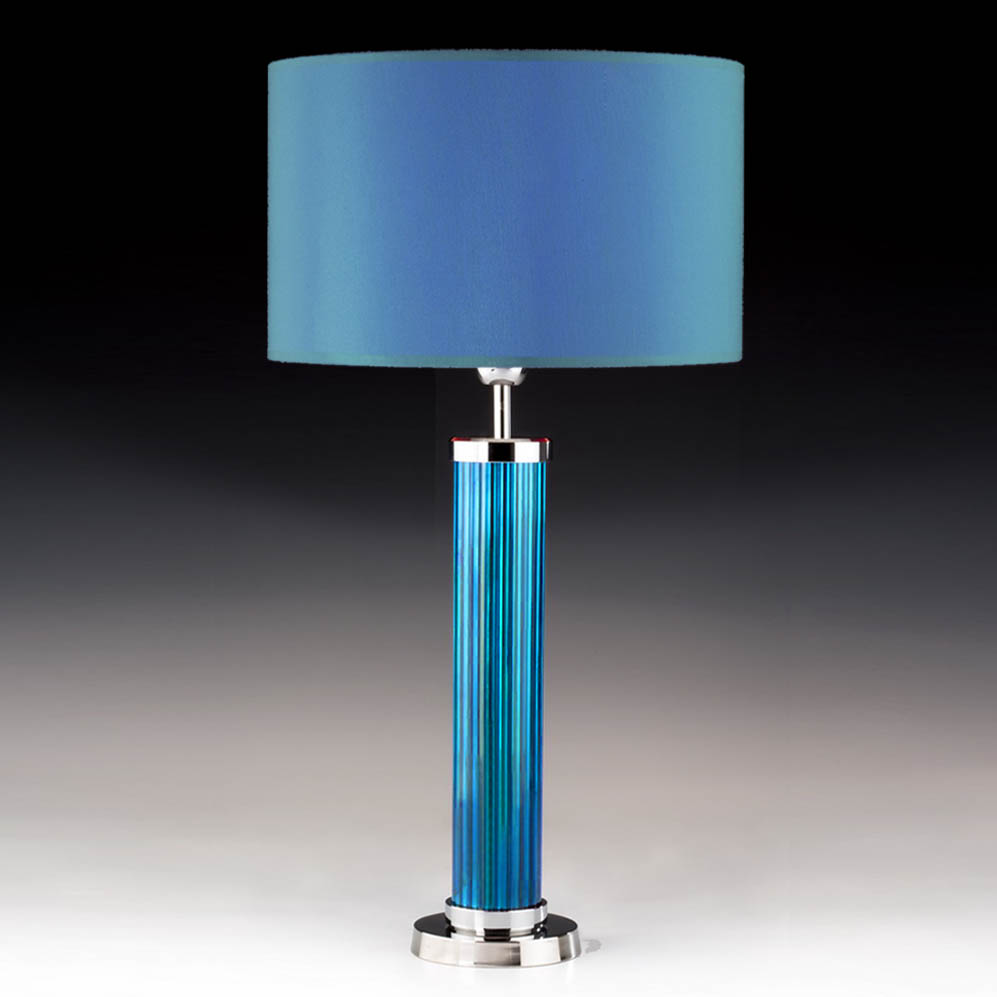 tischleuchte tube t rkis blau online shop direkt vom hersteller. Black Bedroom Furniture Sets. Home Design Ideas
